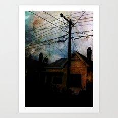 Home Invasion Art Print