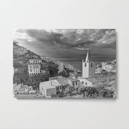 Cinque Terre in Italy Metal Print