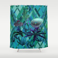 Fantasy Sea Life Shower Curtain