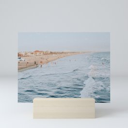 Santa Monica Beach, California Mini Art Print