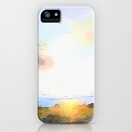 Dawn on the Road iPhone Case