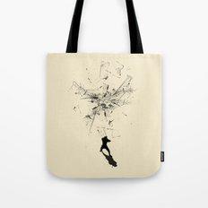 Ninja Moves Tote Bag