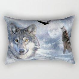 Wolves Rectangular Pillow