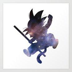 SPACE GOKU Art Print