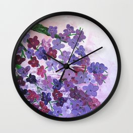 In The Kingdom Of Love Wall Clock