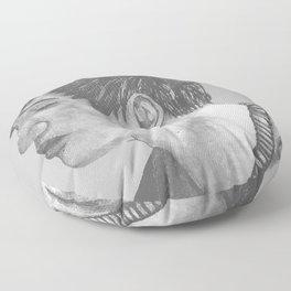 The phantom of him Floor Pillow