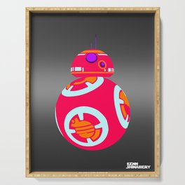Minimal Force: BB8 Serving Tray