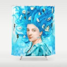 Whispering Songs Shower Curtain