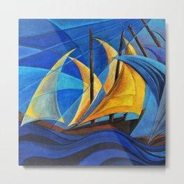 Vele al vento Amalfi Coast, Italy by Pippo Rizzo Metal Print