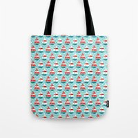 boat Tote Bags featuring Boat by Valendji