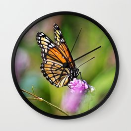 Viceroy Butterfly Wall Clock