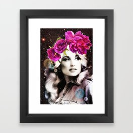 Holy Dolly (dolly parton) Framed Art Print