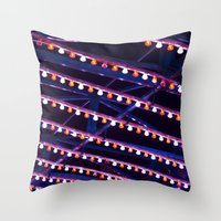 broadway Throw Pillows featuring Broadway by Mistflower