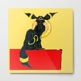 umbreon noir Metal Print