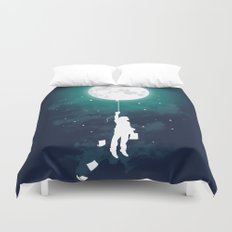 Burn the midnight oil Duvet Cover