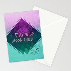 Stay wild moon child (Summer) Stationery Cards