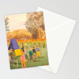 Walk Through Painting Stationery Cards