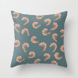 Shrimp Cocktail Throw Pillow