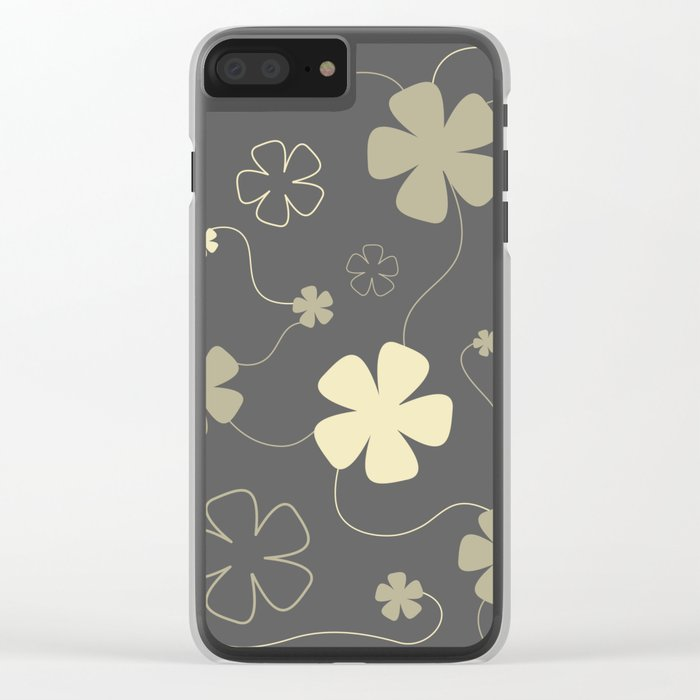 Flower fantasy Clear iPhone Case