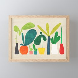 Greens Framed Mini Art Print