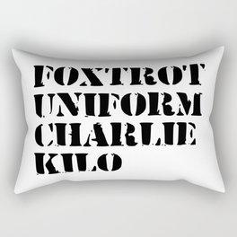army funny sayings Rectangular Pillow