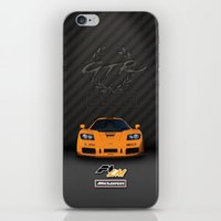 f1 iPhone & iPod Skins featuring 1995 McLaren F1 LM  by vsixdesign