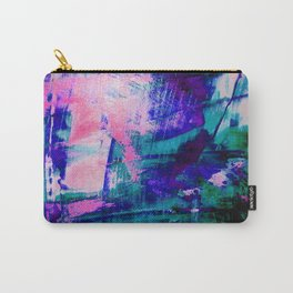 Mermaid Colours Abstract Painting Carry-All Pouch