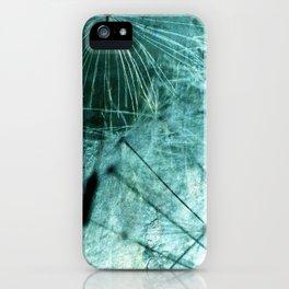 Dandelion Art 8 iPhone Case