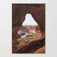 Window Rock Canvas Print