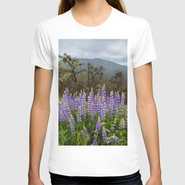 Lupines In The Hills T-shirt