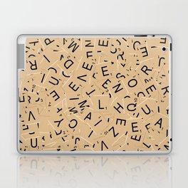 Scrabble Letters Laptop & iPad Skin