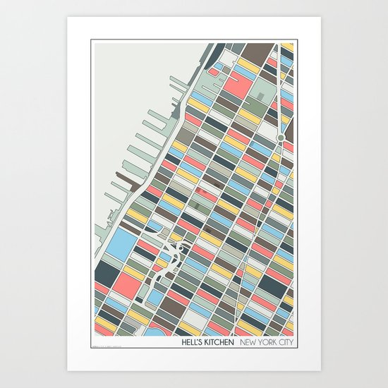 New York City Art Print By Studio