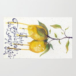 Where Troubles Melt Like Lemon Drops Rug