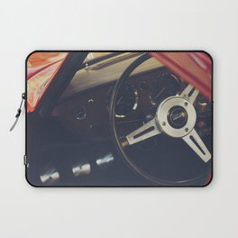 Triumph spitfire, english sports car fine art photography, classy man cave print Laptop Sleeve