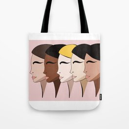 Ladies, lets stand together Tote Bag
