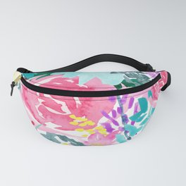 Bright Florals Fanny Pack