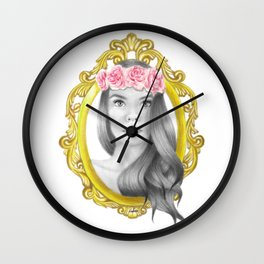 Princess Piper Wall Clock