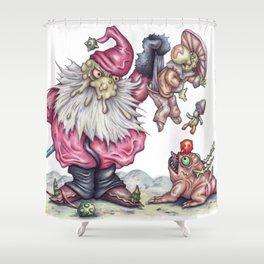 Santanist and Fungish Shower Curtain