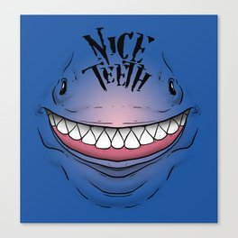 Nice Teeth Canvas Print