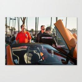 Piston Vice Canvas Print