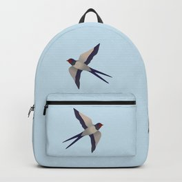 Farmers swallow Backpack