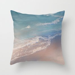 """Starting Point"" detail Throw Pillow"