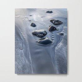 Rocks in the sand Metal Print