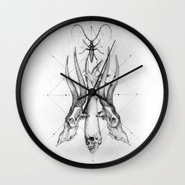 Pointillism Wall Clock