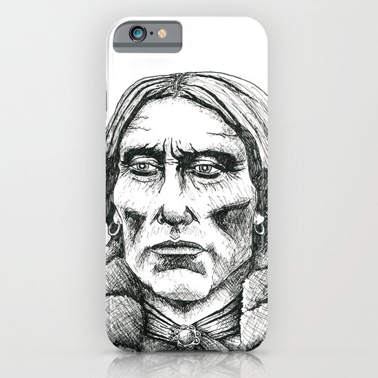 Quanah Parker, Last Chief of the Comanches iPhone & iPod Case