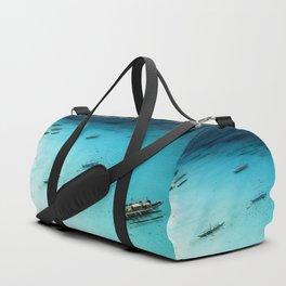 White Beach Boracay Duffle Bag