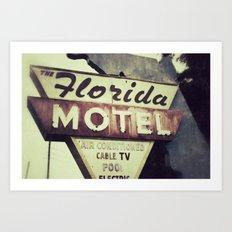 Florida Road Trip Art Print