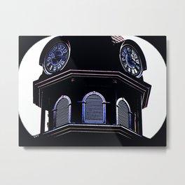 Clock Tower 818 Metal Print