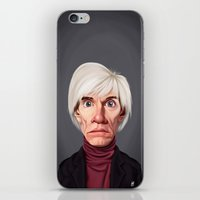 celebrity iPhone & iPod Skins featuring Celebrity Sunday ~ Andy Warhola by rob art   illustration