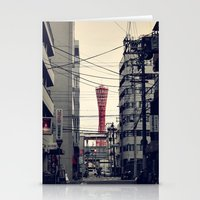kobe Stationery Cards featuring Kobe Cables by Dora